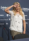 Natalie Horler, ESC2013 press conference 02 (crop).jpg