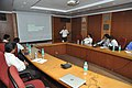 Nataraj Dasgupta Presenting Exhibit Making - NMST Delegates Visit NCSM - Kolkata 2017-06-19 2285.JPG