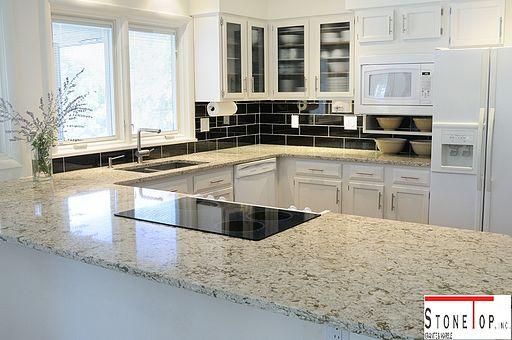 Natural Quartz kitchen Countertops stonetopgranite 2
