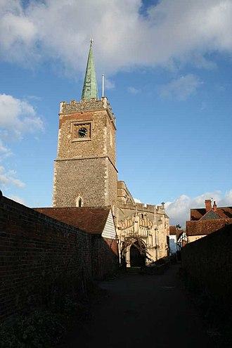 Nayland - St James Church