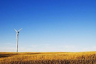 Wind power in Nebraska - Salt Valley, near Lincoln, 2006
