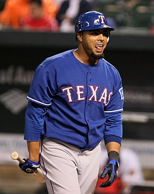 English: A picture of Nelson Cruz.