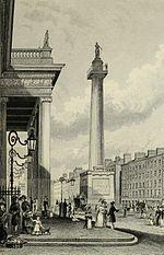 Nelson Pillar, 1830