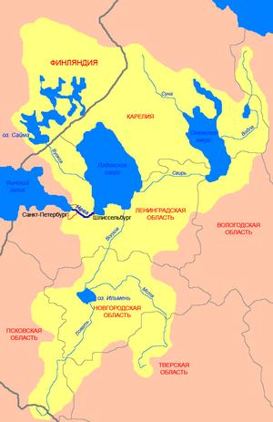 Озеро вуокса карта глубин