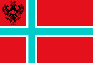 Kingdom of Vikesland - Image: New Flag Vikesland