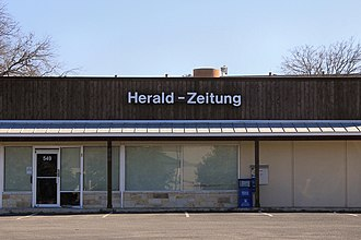 New Braunfels Herald-Zeitung - Offices of the New Braunfels Herald-Zeitung