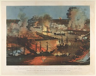 Battle of Forts Jackson and St. Philip Battle of the American Civil War