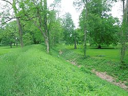 Newark Earthworks Wall and Moat.jpg