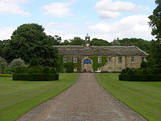 Newburgh Priory Grade I listed architectural structure in Hambleton, United Kingdom