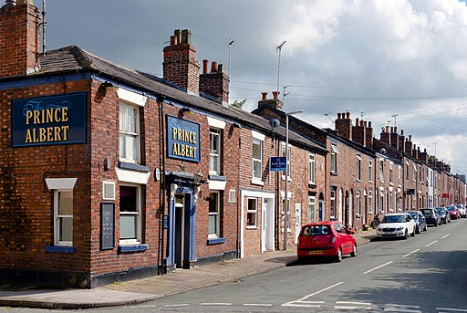 Creative Commons image of The Prince Albert in Macclesfield