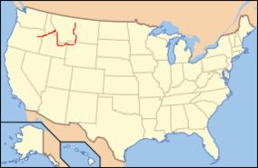 Oregon Trail On Us Map.Nez Perce National Historic Trail Wikipedia