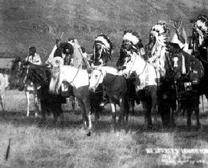 Nez Perce War - Nez Perce warriors
