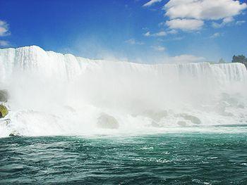 Американската част на водопада в щата