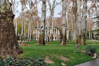 Ahmad Shahi Pavilion - Image: Niavaran Palace Tehran