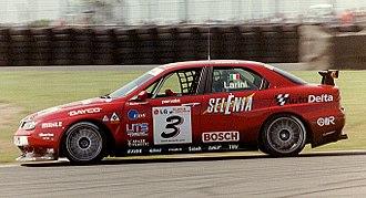 Nicola Larini - Larini -Alfa Romeo 156 GTA in Donington 2003 ETCC