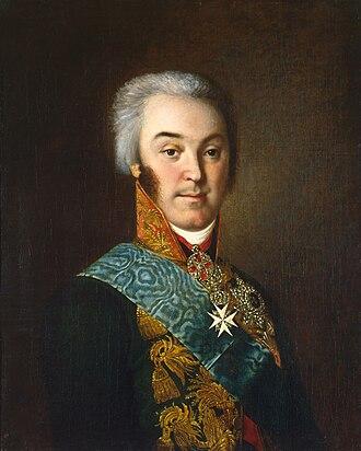 Nikolai Sheremetev - Portrait