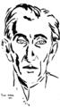 Nina Arbore - Desen barbat 1930.png