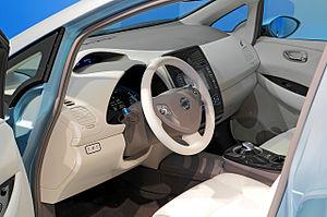 Nissan Leaf - Leaf interior
