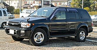 Nissan Pathfinder - 2001 Nissan Terrano Regulus (JDM)