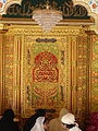 Nizamuddin Dargah mihrab outer decoration (3545018983).jpg