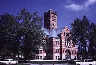 Noble County, Indiana - Image: Noble County Indiana Courthouse
