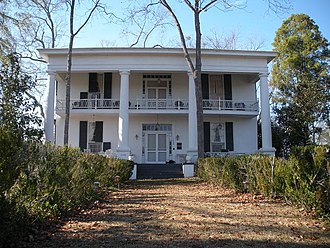 Auburn, Alabama - Historic Noble Hall, Auburn, Alabama