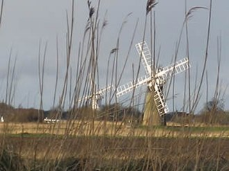 The Broads - Drainage windmills on the Norfolk Broads