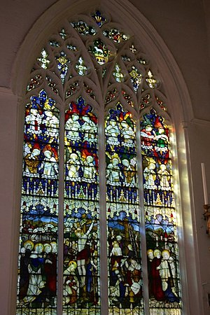 Little St Mary's, Cambridge - Image: North east window of Little St Mary's Church geograph.org.uk 1563060