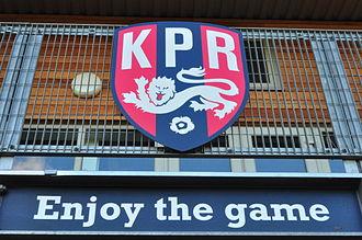 North Sheen Recreation Ground - Image: North Sheen Rec KPR badge