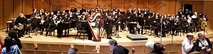 Northshore Concert Band - Image: North Shore Concert Band at Pick Staiger Concert Hall in 2017