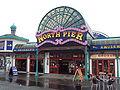 North pier frontage, Blackpool - DSC06698.JPG