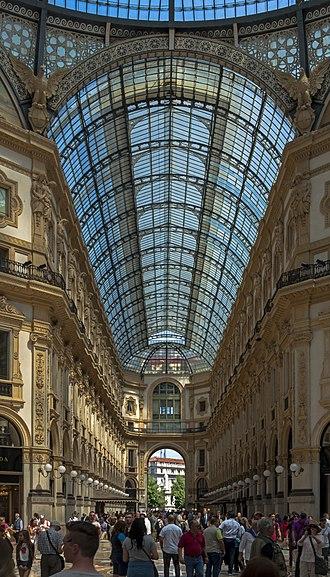 Architecture of Italy - The Galleria Vittorio Emanuelle II