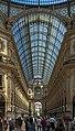 North view in Galleria Vittorio Emanuele II from rotunda.jpg