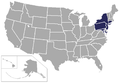 Northeast Conference map.png
