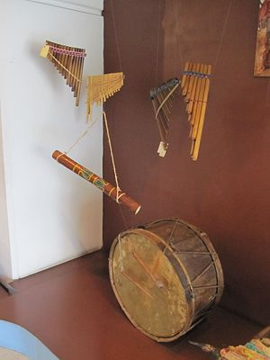 Instruments from Ecuador's northern highlands