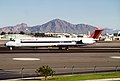 Northwest Airlines MD-82; N302RC, February 1988 DUY (5287964951).jpg