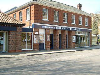 Norwich Playhouse Theatre in Norwich, Norfolk, England