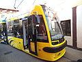 Nowy tramwaj w Toruniu, swing. Od października 2014 w taborze MZK.jpg