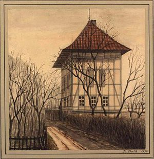 Blegdamsvej - House at pond No. 13 (now Blegdamsvej 63)