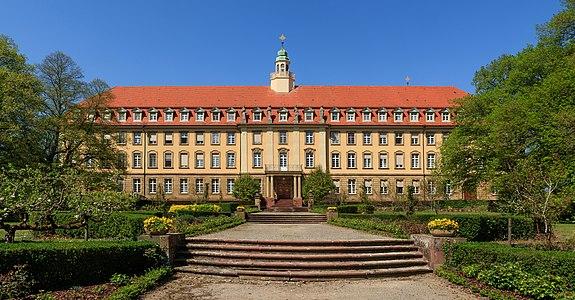 Nunnery Erlenbad, southeast facade, Sasbach, Germany