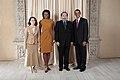 Nurbek Jeenbaev with Obamas.jpg