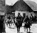 Ožji štab 5. prekomorske brigade ob prihodu v Slovenijo.jpg