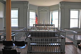 Old State House (Dover, Delaware) - Interior view