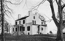 Oak Hill (James Monroe House), front view (1915).jpg