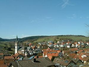 Jossgrund - Oberndorf with St. Martin