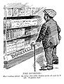 Observer 4 July 1914 THE DICKENS! Hori (reading notice).jpg