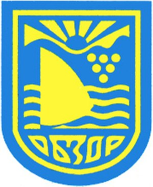 Svietlahorsk - Image: Obzor Wappen