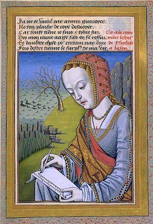 Hypsipylé, first wife of Jason, from Octavien ...