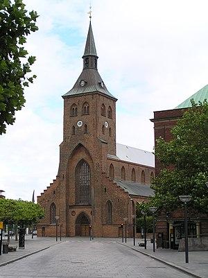 Odense Municipality - Saint Canute's Church (Sankt Knuds Kirke) in Odense, Denmark.