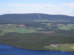 Krokom Municipality - View from Hällberget in Offerdal.